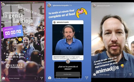 Podemos Stories Instagram