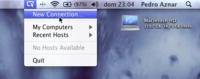 ScreenSharingMenulet, accede rápidamente a Compartir Pantalla