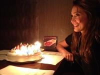 Jessica Alba adelanta su celebración cumpleañera