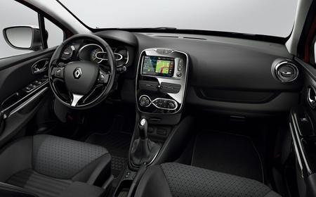 Renault Clio 2012 interior en negro