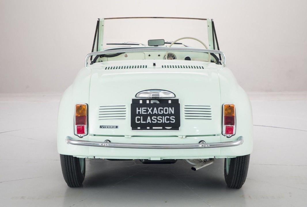Foto de Fiat 500 Gamine by Vignale (4/11)
