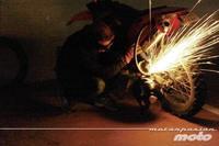 Los robos de motos en Francia también descienden