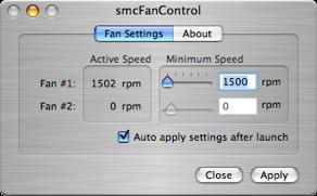 smcFanControl: Aumenta la velocidad de los ventiladores de tu MacBook / MacBook Pro