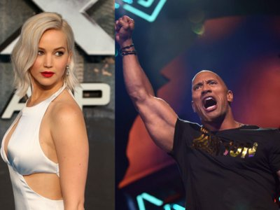 Dwyane Johnson y Jennifer Lawrence son los actores mejor pagados de Hollywood (2015-2016)
