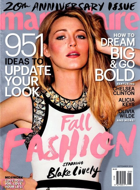 US Marie Claire: Blake Lively