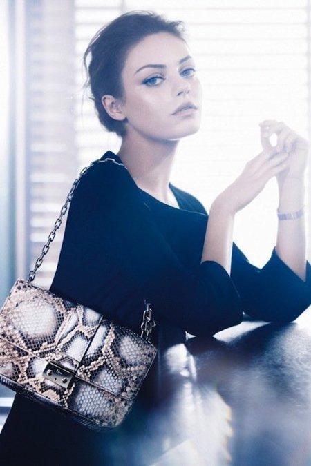 Dior campaña Primavera-Verano 2012: Bienvenida a bordo señorita Kunis