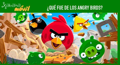 ¿Qué fue de los Angry Birds?