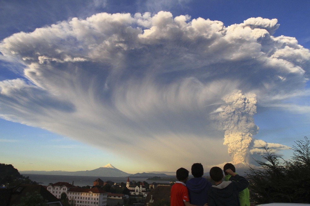 Vocan Calbuco Chile 2