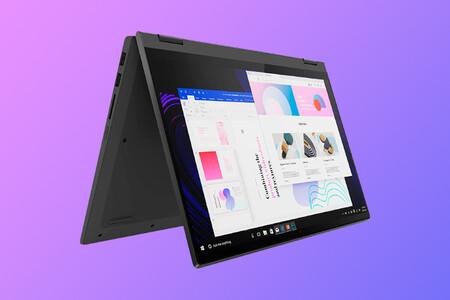 El convertible Lenovo IdeaPad Flex 5 sustituye al ordenador portátil y tableta por 649 euros en Amazon, su mínimo