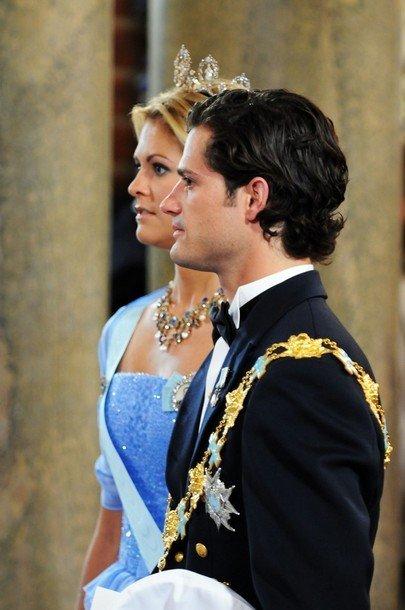 Boda de la Princesa Victoria de Suecia, ceremonia: Princesa Madeleine I