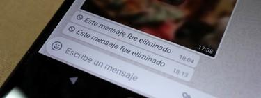 Cómo recuperar conversaciones y mensajes borrados en WhatsApp