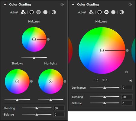 Lightroom Introducing Color Grading Color Wheels