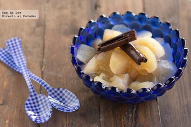 Compota de manzana, receta clásica fácil y deliciosa
