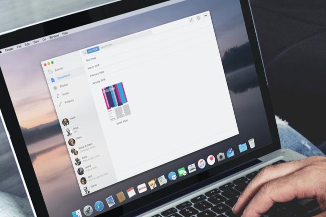 macOS en MacBook