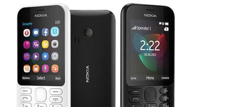 Nokia 222 es el nuevo teléfono básico, sencillo y económico de Microsoft