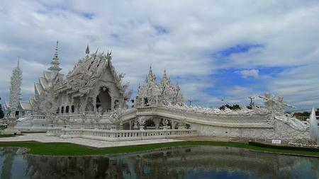 El templo blanco. De viaje por Chiang Rai, Tailandia (I)