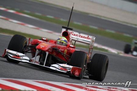 Test del Circuit de Catalunya. Felipe Massa obtiene el mejor tiempo de los cuatro días