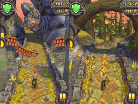 Los mejores juegos gratis para iOS - Endless Runners - temple run
