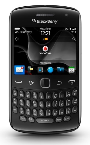 BlackBerry Curve 9360 ahora disponible con Vodafone