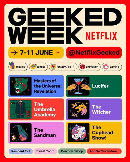 Geeked Week Announcement Poster A 4 5