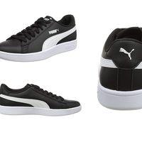 Por 29,95 euros podemos hacernos con unas zapatillas deportivas Puma Smash V2 en negro gracias a Amazon