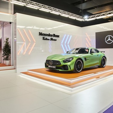 Moda, motor y diseño de interiores unidos en la Mercedes-Benz Fashion Week Madrid