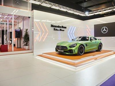 Moda, motor y diseño de interiores unidos en la Mercedes-Benz Fashion Week Madrid