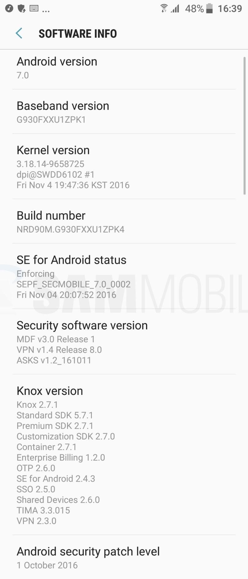 Foto de Capturas Android 7.0 Nougat en el Samsung Galaxy S7 (17/65)