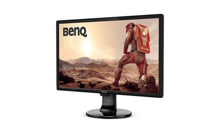 Para comprar un monitor gaming a un precio de risa, en PcComponentes tienes el BenQ GL2460BH por sólo 99,99 euros esta semana