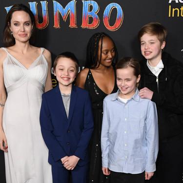 Por qué es divertido tener hijos adolescentes, como asegura Angelina Jolie