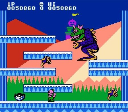 Snow Bros Nes