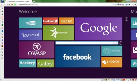 Mantra. Pruebas de seguridad desde el navegador.