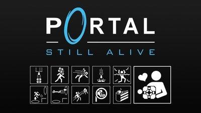 """""""Still the Floppy Alive"""". El clásico de 'Portal' en disquetera"""