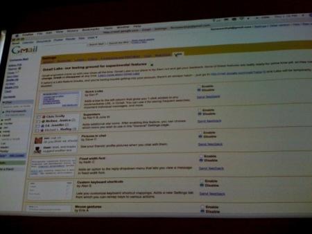 Gmail Labs, 13 nuevas funcionalidades para Gmail