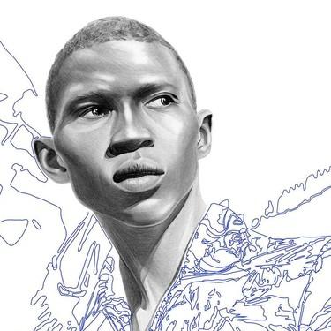 Conoce a Aiste Stancikaite, la ilustradora que retrata la moda masculina con sólo lápiz y papel