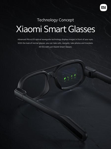 Xiaomi Smart Glasses Tecnologia