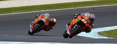 KTM permitirá alquilar y probar sus motos de Moto2 por 190 euros tras su marcha de la categoría