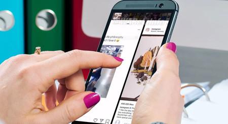 Instagram está probando una interfaz con tarjetas en lugar de scroll vertical
