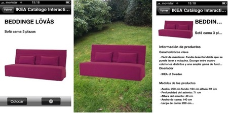 ikea iphone sofa fucsia