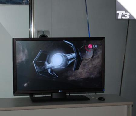 LG ofrecerá monitores 3D el próximo año