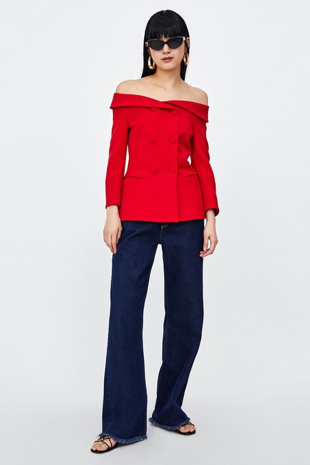 Meghan Markle Blazer Zara