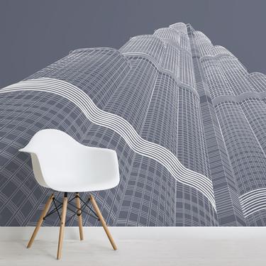 Rascacielos emblemáticos para una decoración de pared a la altura de tus expectativas