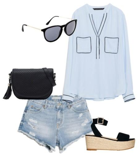 outfit sencillo verano