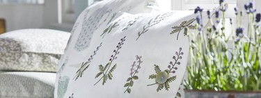 Huertos urbanos y un toque british inspiran esta original colección de textiles de Sanderson