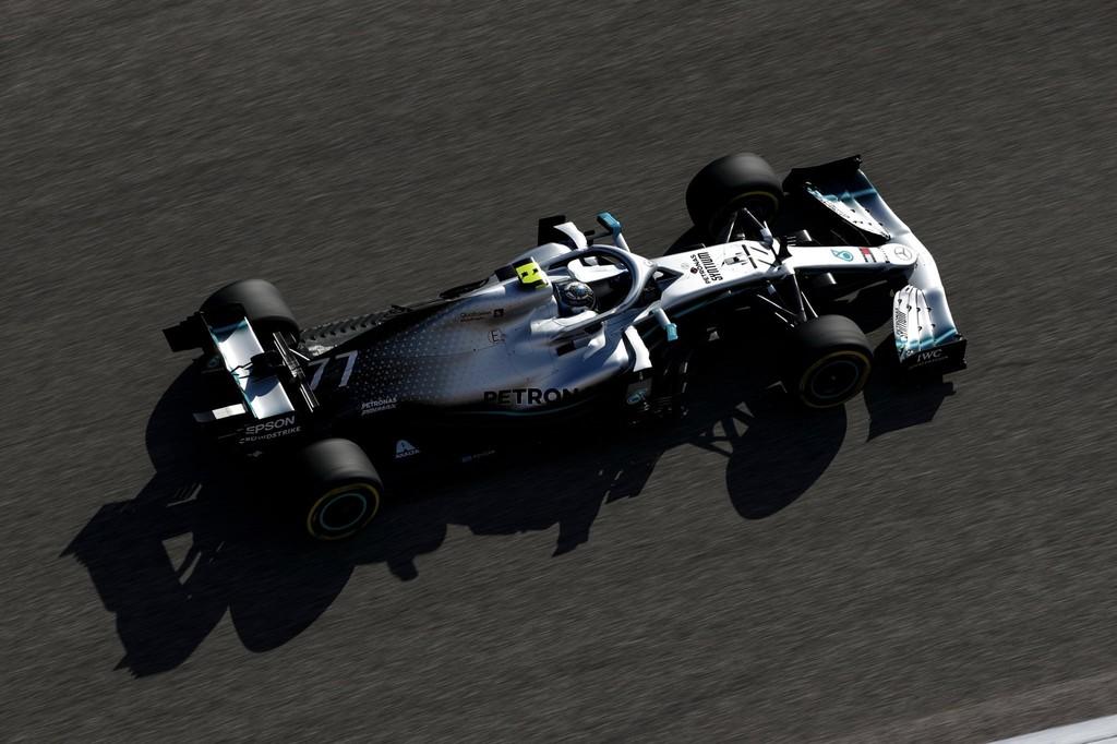 Valtteri Bottas se lleva la victoria en Austin pero no puede impedir la coronación de Lewis Hamilton
