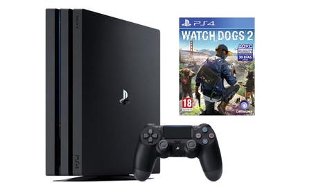 En Mediamarkt, por el precio de la consola, te llevas la PS4 Pro más Watch Dogs 2