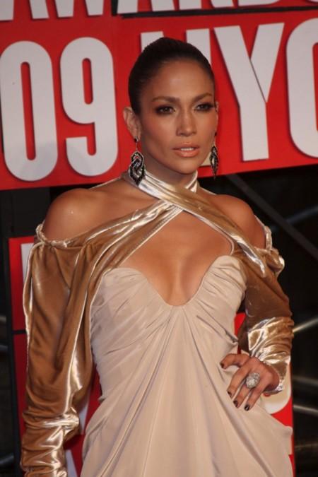 Jennifer Lopez y las mangas de cortina