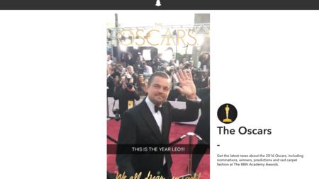 Las 'historias en vivo' de Snapchat llegarán a la web