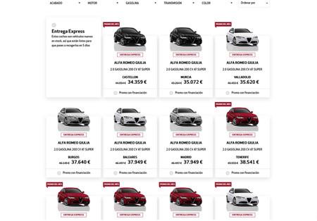 Descuentos Alfa Romeo