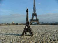 La Torre Eiffel... con una réplica también en Fez